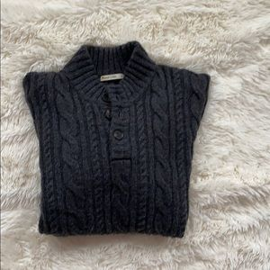 Marine layer men's cable knit sweater